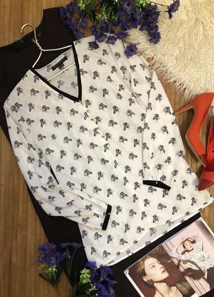 🌹акция 2=3 🌹супер блуза 100% вискоза в зебры