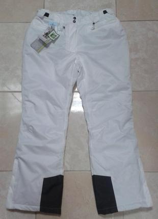 Теплые лыжные штаны с пропиткой teflon ecoelite 50-52 р. crane techtex extreme