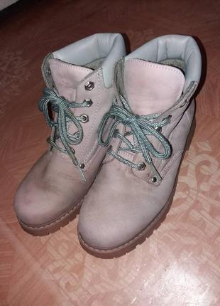 Женские ботинки на шнурках фирмы dorothy perkins.