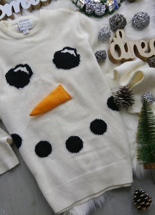 Актуальный новогодний свитер merry christmas new year