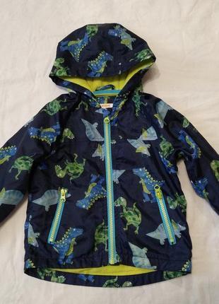 Куртка ветровка blue zoo  18 - 24 мсе 92 см