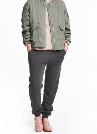 Спортивные тёплые штаны новые h&m оригинал