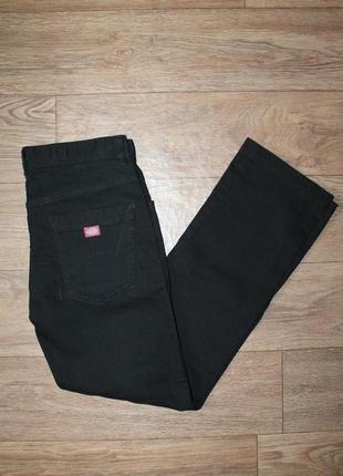 Оригинальные качественные джинсы dickies black denim размер w30/l32