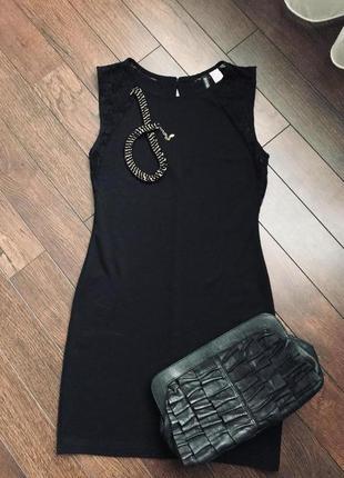 """Стильное """"маленькое черное платье"""", h&m, размер м/с"""