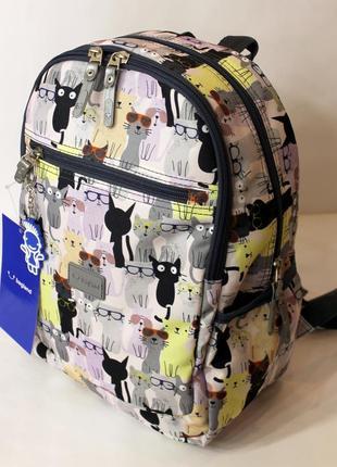 Рюкзак, ранец, городской рюкзак, спортивный рюкзак, детский рюкзак, коты
