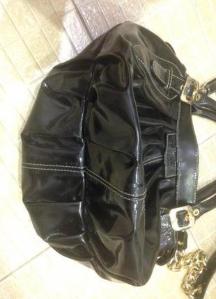 Продам кожаную сумку baldinini,оригинал2 фото