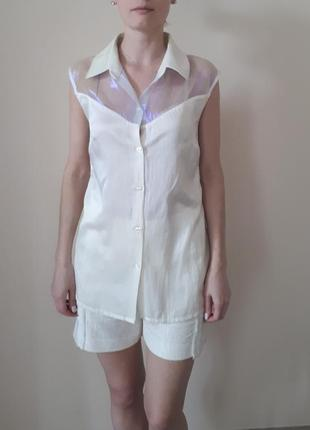 Оригинальная летняя блуза  begon