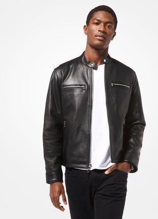 Куртка натуральная кожа michael kors
