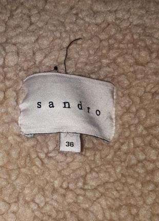 Sandro пальто5 фото