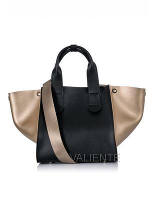 Сумка шоппер, клатч, сумочка трансформер valiente