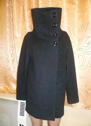 Шерсть+кашемир пальто от sisley италия