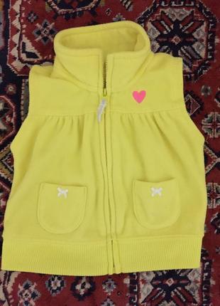 Модная жилетка для девочки carter s