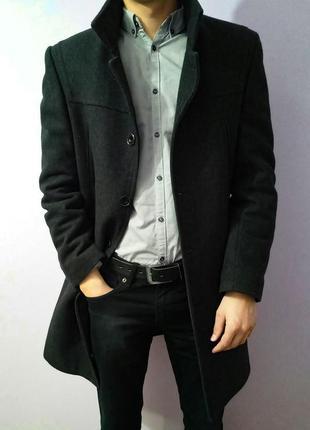 Зимнее мужское турецкое пальто