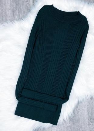 Базова кофтинка насиченого смарагдового кольору new look