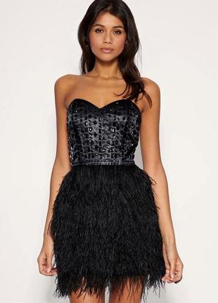 Неординарное шикарнейшее платье asos m-l