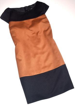 Стильное  офисное платье next 14 размер