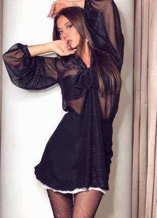 Блуза с мерцанием новая