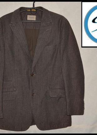 Брендовий піджак чоловічий stones casual l [македонія] (пиджак мужской)
