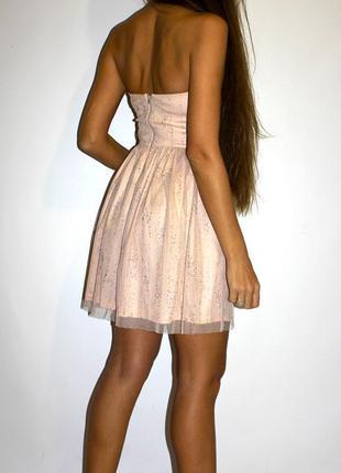 Платье в стразах - молния по спинке -- срочная уценка платьев --2 фото