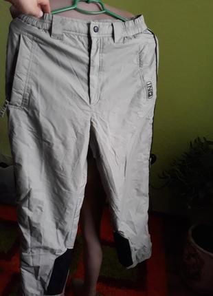 Теплые лыжные термо штаны
