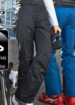 Теплые лыжные штаны с пропиткой teflon ecoelite 48-50 crane  techtex extreme