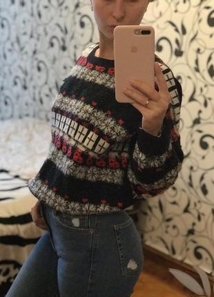 Свитер шерстяной,зимний свитер,next,зимний свитер