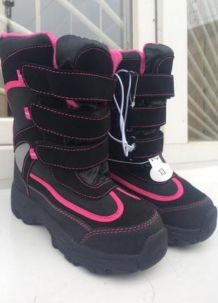 Детские зимние ботинки athletech 20 см