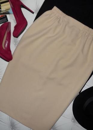 Юбки на любой вкус!♥элегантная юбка карандаш, нежный беж
