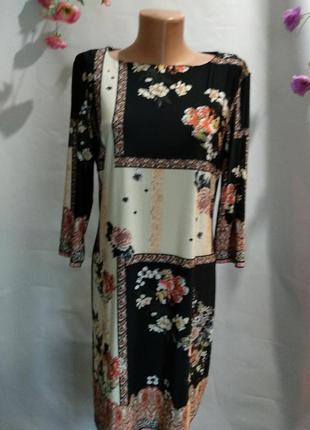 Великолепное платье эластан р 16