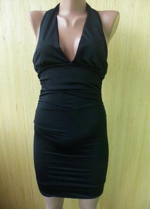 Маленькое чёрное платье с открытой спиной club l