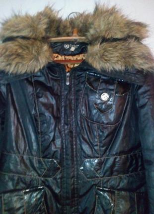 Курточка женская коричневая
