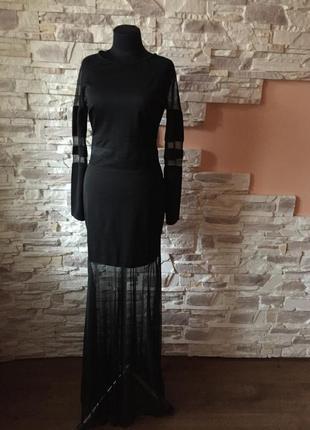 Шикарное вечернее платье от l club