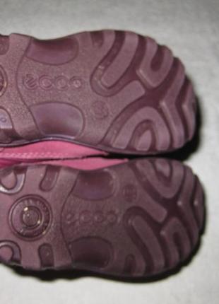 13,5 см стелька, зимние термо сапоги ботинки ecco, экко с гортексом3