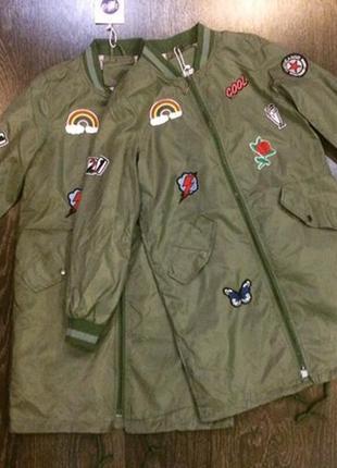 Легенькая куртка бомбер