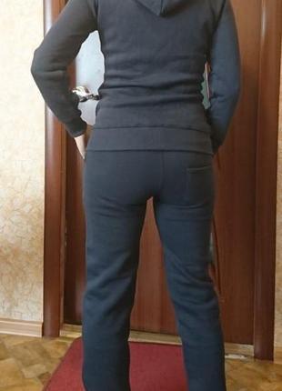 Теплый толстовочный костюм на флисе!!!