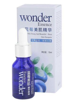 Акция ♥ сыворотка с гиалуроновой кислотой и экстрактом черники bioaqua wonder essence