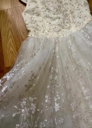 Платье снежинки, принцессы3