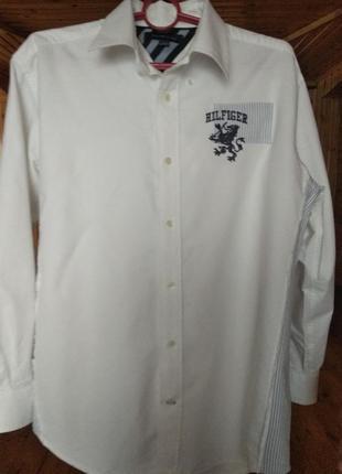 Стильная рубашка tommy hilfiger