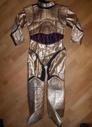 Star wars, карнавальный костюм на мальчика из звёздных войн 4-7 лет 122см.