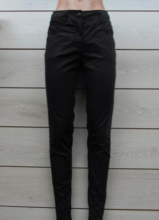 Новогодние скидки!хлопковые штаны брюки под джинс от h&m р. 40/l/30