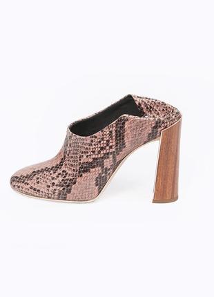 Туфли мюли ботильоны розовые stella mccartney оригинал,новые