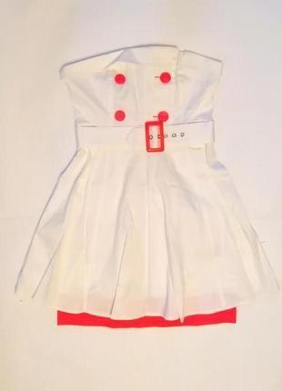 Платье orsay белое. размер 34.