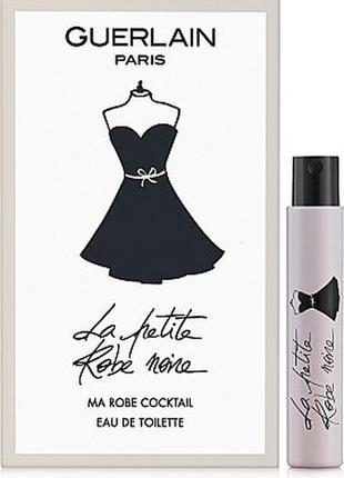 Guerlain la petite robe noir, пробник, 1 мл, оригинал