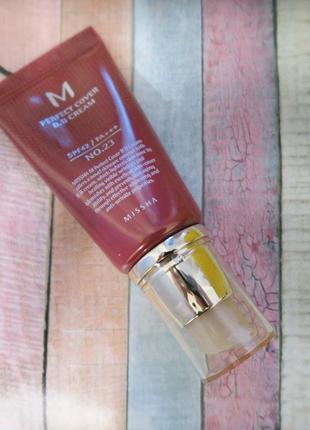Тональный крем миша, missha perfect cover bb cream, 50 мл