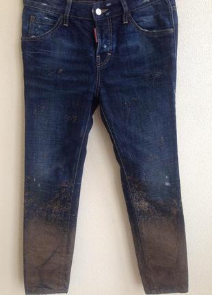 Эксклюзивные брендовые джинсы dsquared
