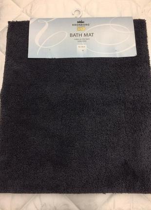 Коврик для ванной 70 * 120 серый