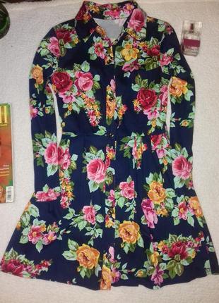 Очень красивое платье рубашка