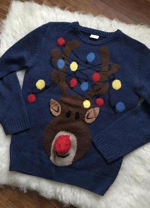 Новогодний свитер, светится