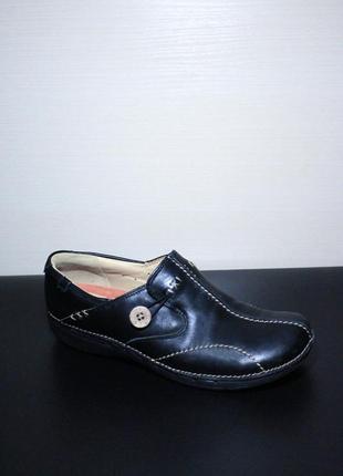 Оригинал clarks unstructured women's un.loop slip-on слипоны туфли ботинки низкие