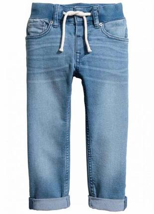 Новые джинсы слим для девочки, h&m, 062753